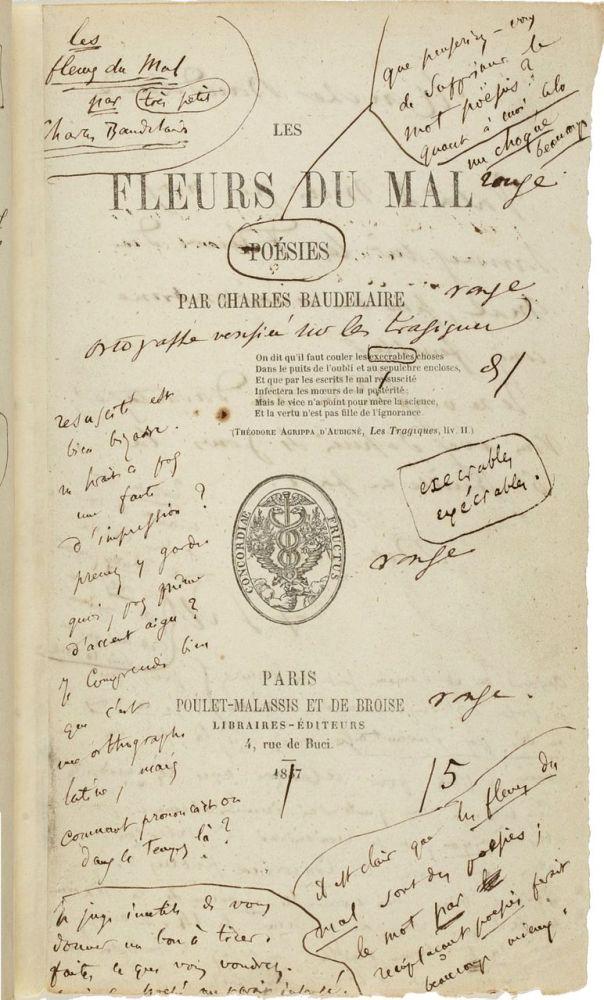 Charles Baudelaire's Fleurs du mal / Flowers ofEvil